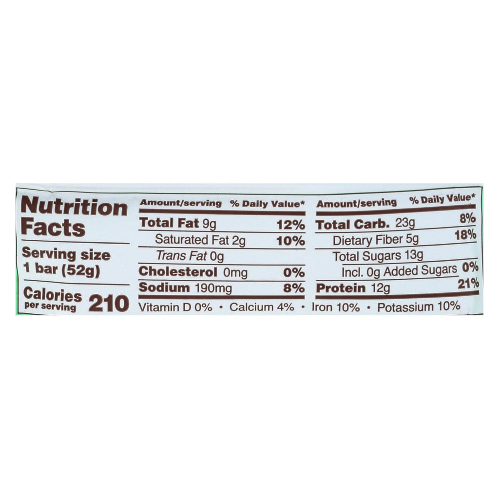 Rxbar Protein Bar - Mint Chocolate - Case Of 12 - 1.83 Oz.