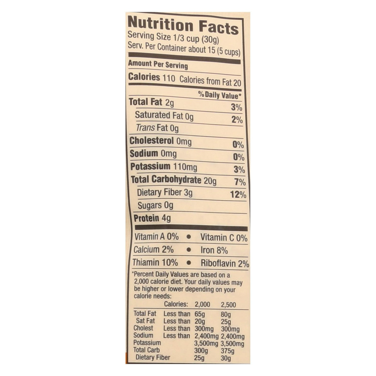 Arrowhead Mills Organic Oat Flour - Case Of 6 - 16 Oz.