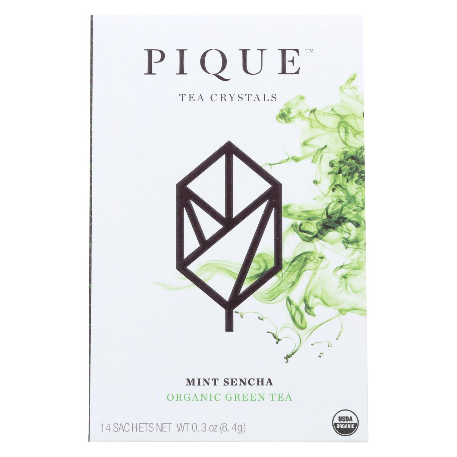 Pique Tea Crystl - Organic - Mint Sencha - Case Of 6 - 14 Count