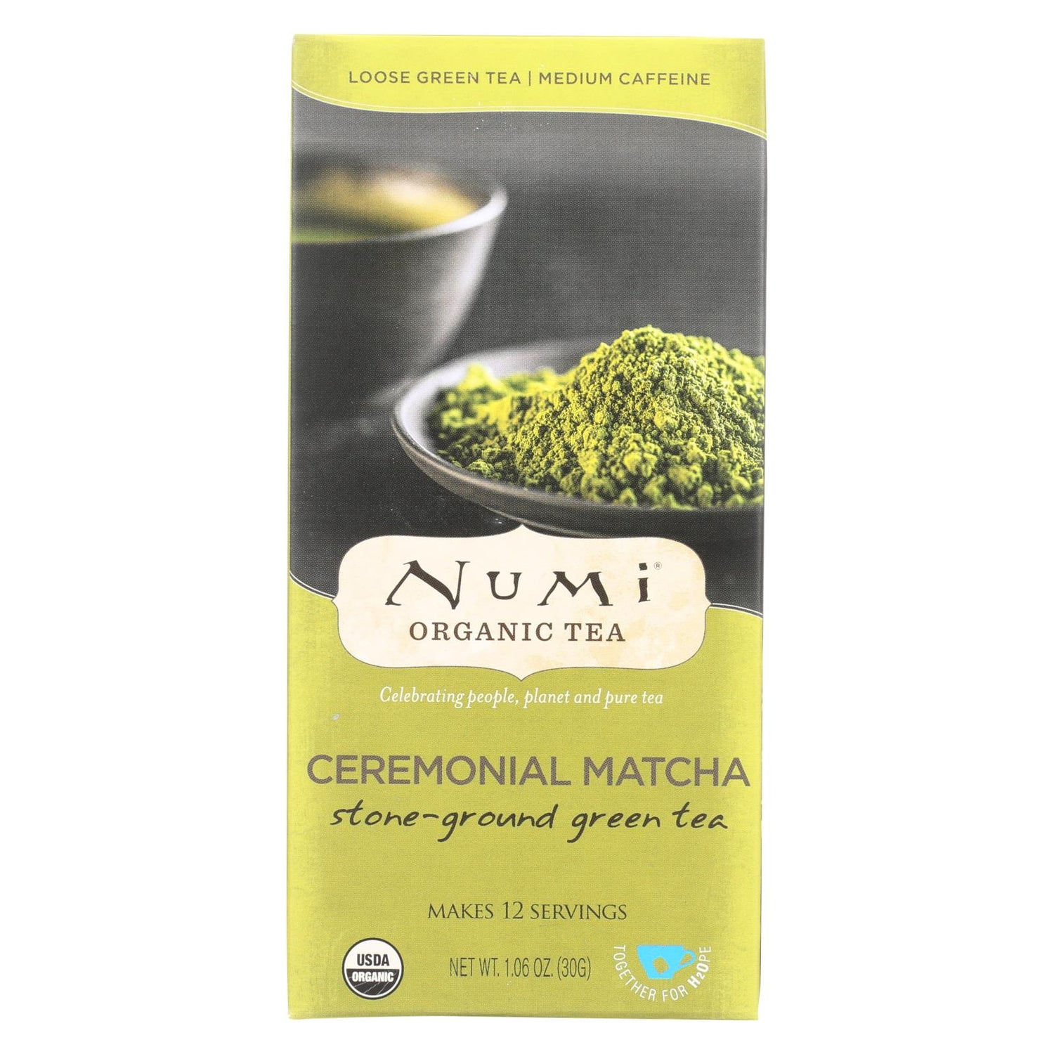 Numi Tea Ceremonial Matcha - Organic - Case Of 6 - 1.06 Oz