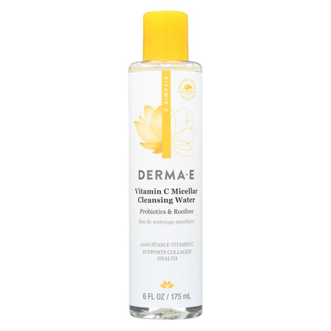 Derma E Vitamin C - Micellar Cleans Water - 6 Fl Oz