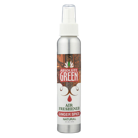 Absolute Green - Air Freshener Ginger Spce - Case Of 12-4 Oz