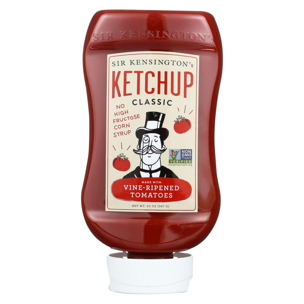 Sir Kensington's Ketchup - Squeeze Bottle - Case Of 6 - 20 Oz