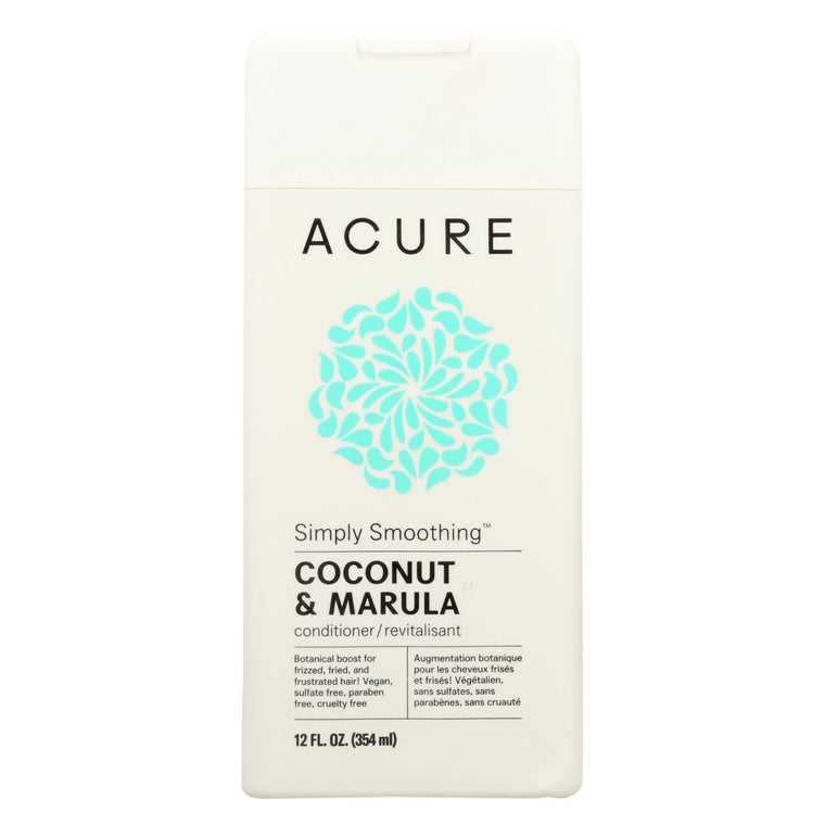 Acure Conditioner - Simply Smoothing - 12 Fl Oz