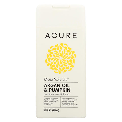 Acure Conditioner - Mega Moisture - 12 Fl Oz