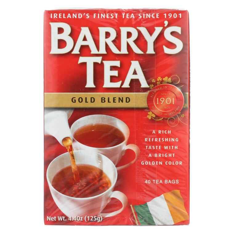 Barry's Tea - Tea - Gold Blend - Case Of 6 - 40 Bags