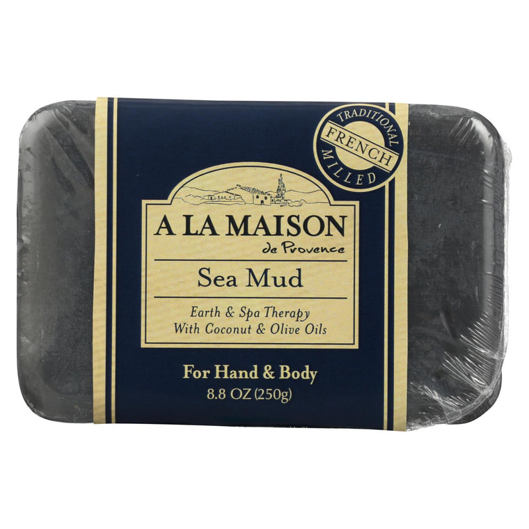 A La Maison Bar Soap - Sea Mud - 8.8 Oz