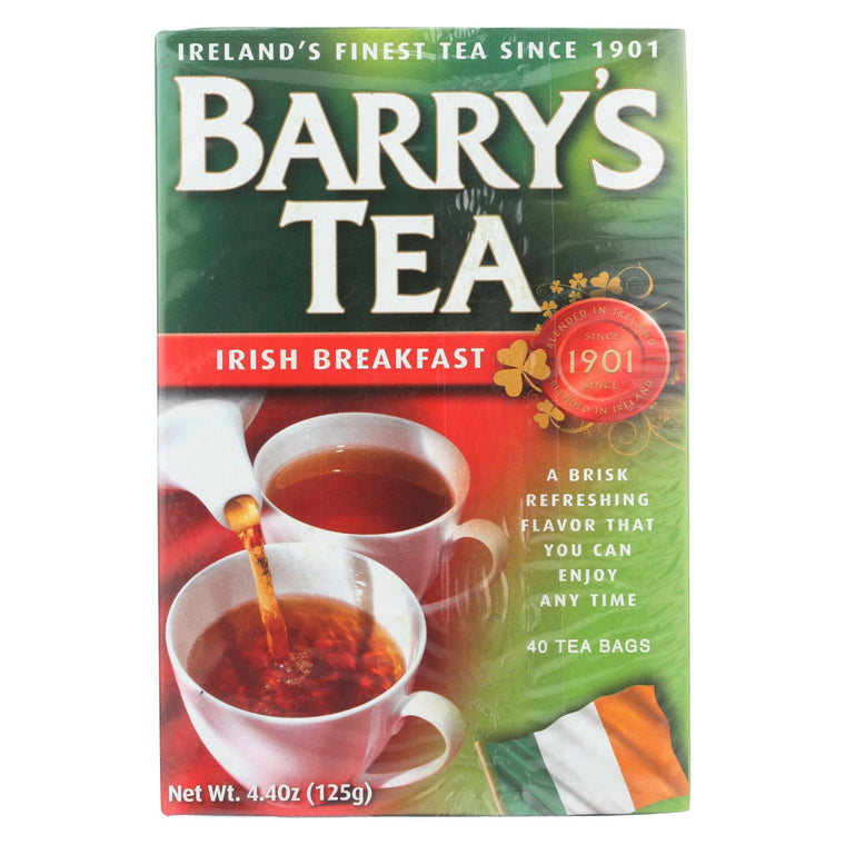 Barry's Tea - Tea - Irish Breakfast - Case Of 6 - 40 Bags