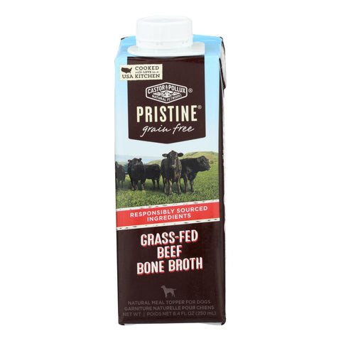 Castor & Pollux - Broth Green Fr Beef Bone - Case Of 24 - 8.4 Fz