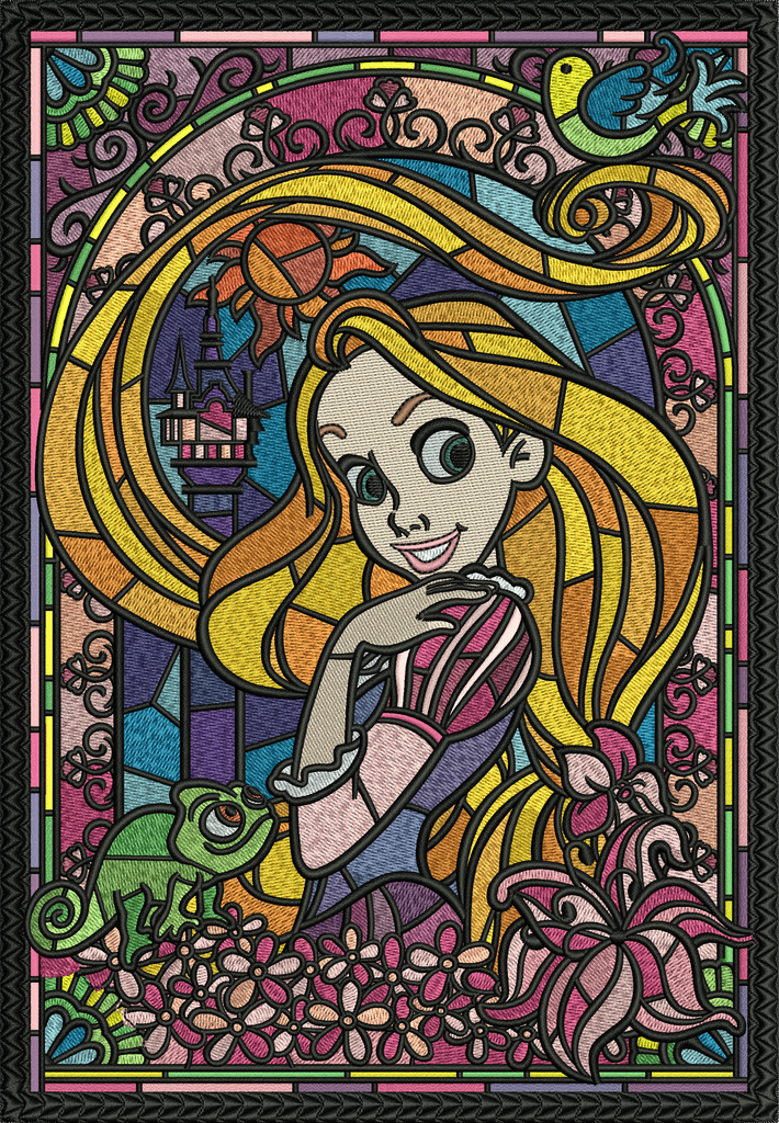 Tangled Stain Glass