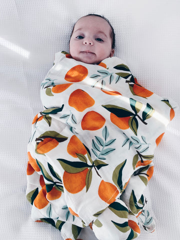 Little Peach Swaddle - Felix and Leopold