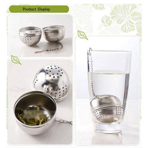 Stainless Steel Ball Tea Infuser - Free Worldwide Shipping - Exotic Land Imports