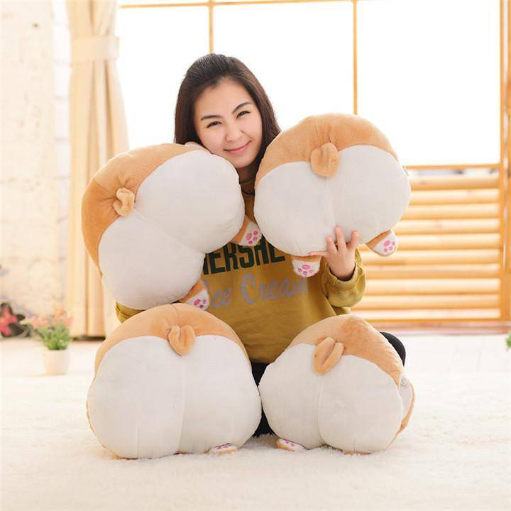 "Corgi ""Sexy Butt"" Pillow - Exotic Land Imports"