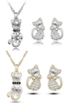 Cute Kitten Jewelry Set - Exotic Land Imports