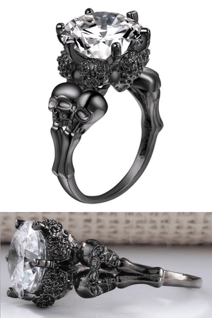 """Crown Of Skulls"" Ring - Free Worldwide Shipping - Exotic Land Imports"