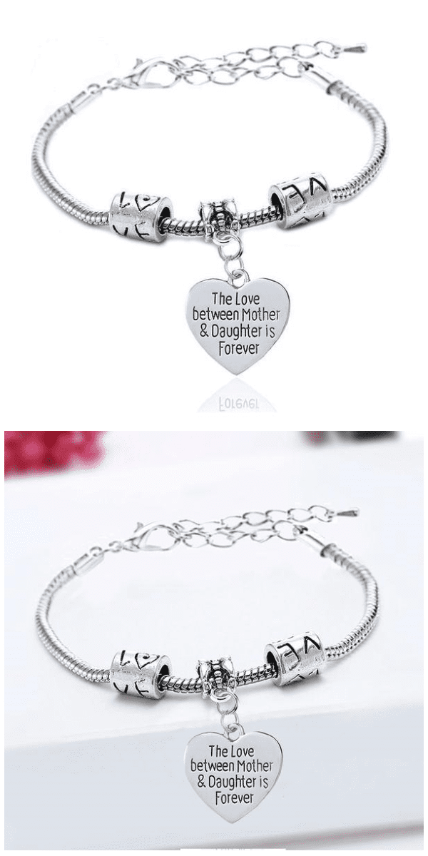 The Love Between a Mother and Daughter Is Forever Bracelet - Exotic Land Imports