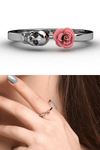 """Skull & Rose"" Ring - Free Worldwide Shipping - Exotic Land Imports"