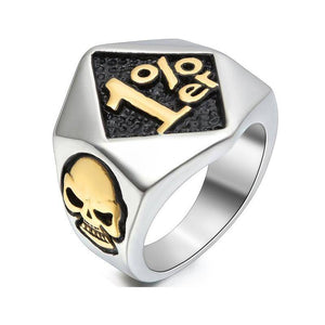 1 er Biker Ring For Sale - Free Worldwide Shipping