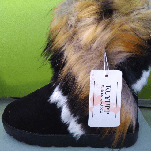 The Goddess Furry Boots that Speak for Themselves! - Exotic Land Imports