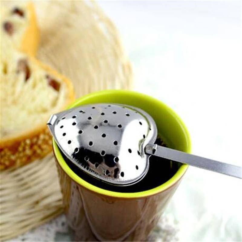 Heart Shaped Tea Infuser Spoon (Stainless Steel) - Free Shipping