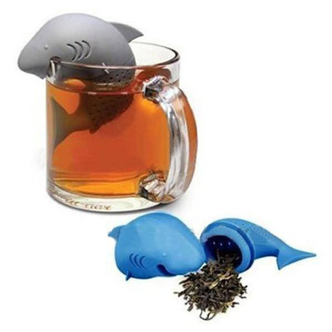 Shark Tea Infuser (Silicone) - Free Worldwide Shipping - Exotic Land Imports
