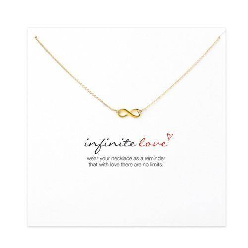"""Infinite Love"" Pendant Necklace - Exotic Land Imports"