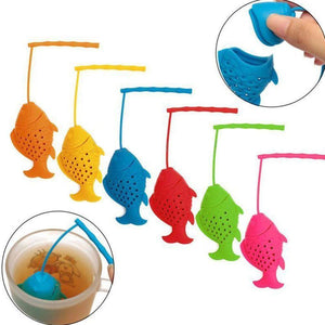 Fish Tea Infuser (Silicone) - Free Worldwide Shipping - Exotic Land Imports