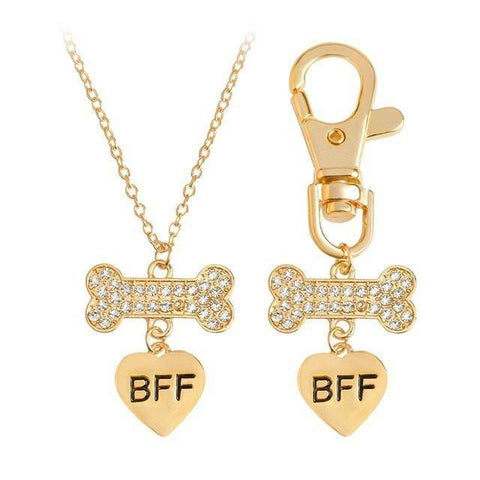 BFF Dog Bone Necklace - Exotic Land Imports