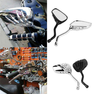 Skeleton Hand Motorcycle Rear View Mirrors - Exotic Land Imports