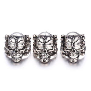 """Laughing Skull"" Ring"
