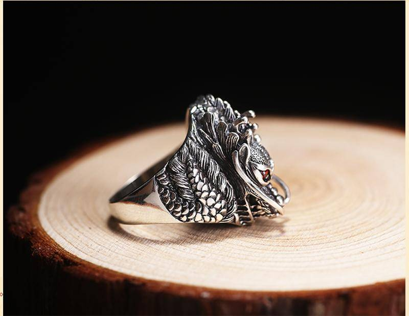 Ruby Dragon Ring - Exotic Land Imports