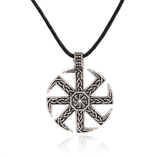 Kolovrat Pendant Necklace - Exotic Land Imports