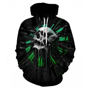 Skull of Time Hoodie - Exotic Land Imports
