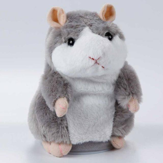 Hammy the Talking Hamster Toy For Sale - Gray