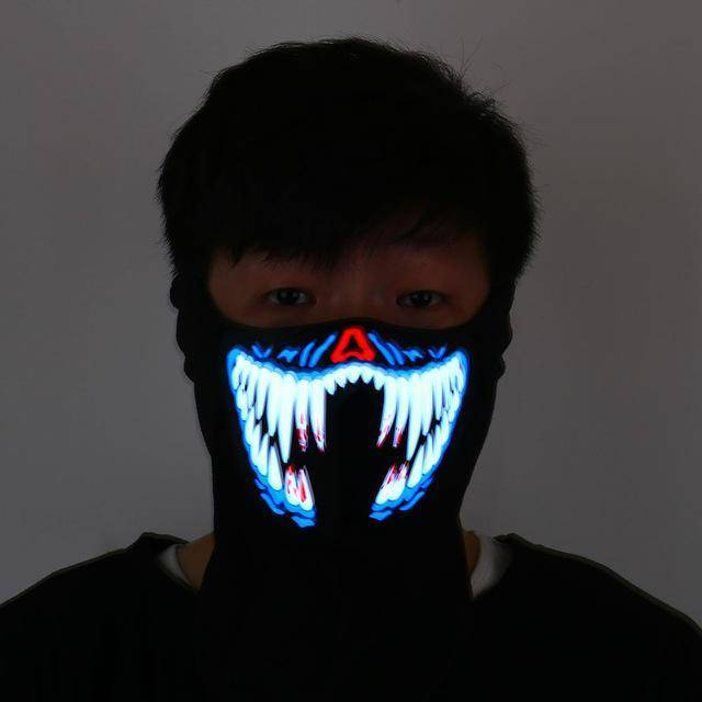 LED Rave Mask - Exotic Land Imports