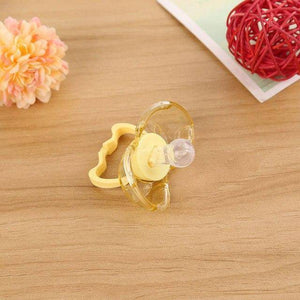 Self Closing PACIFIER - Made with a Soothie™ medical grade, latex free - Exotic Land Imports