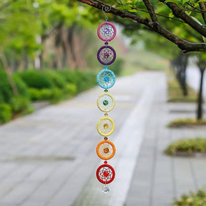 7 Chakras Dream Catcher - Exotic Land Imports