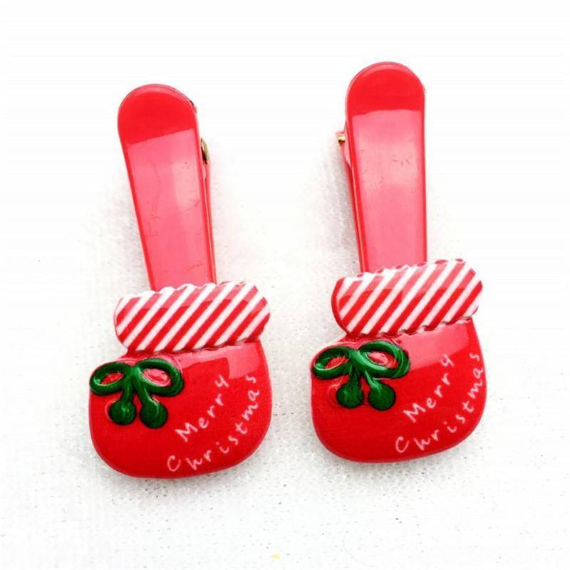 🎄10 Piece Random Christmas Hairpins or Elastic Hair Bands - How Festive! FREE SHIPPING🎁 🎁 🎁 🎁 🎁 🎁 🎁 🎁 - Exotic Land Imports