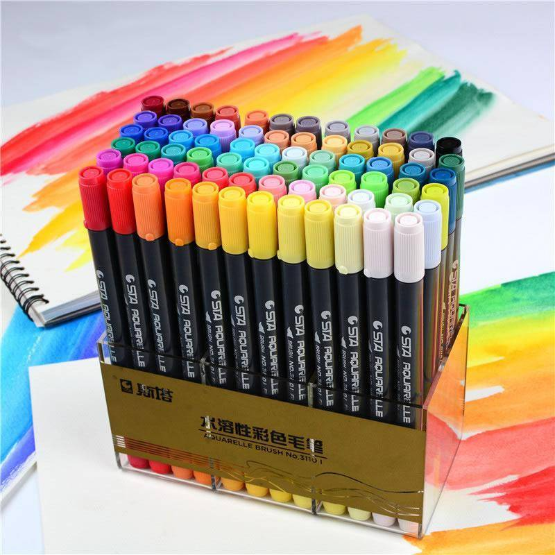 Aquarelle Coloring Brush Pens For Sale