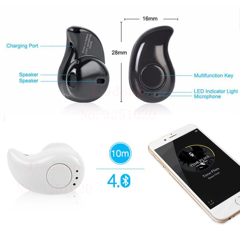 S530 Wireless Bluetooth Earbud - FREE Promotion! - Exotic Land Imports