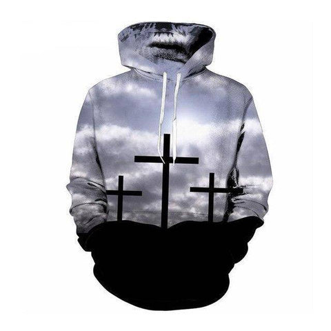 Really Cool - Jesus Calvary Hoodie - Exotic Land Imports