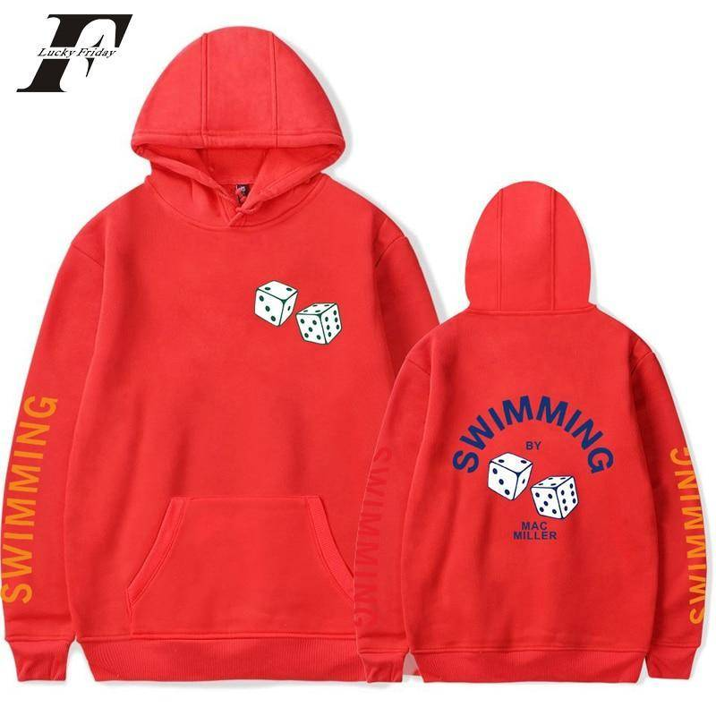 "2018 Mac Miller SWIMMING   and/or   ""1992-2018"" RIP Hoodie Sweatshirts - Exotic Land Imports"