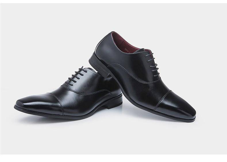 Cap-toe Oxford Shoes - Exotic Land Imports