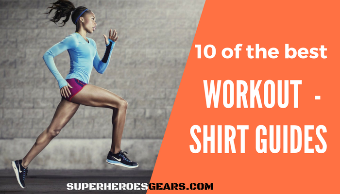 Top 10 Superheroes Workout And Gym T-Shirts for Men and Women in 2017