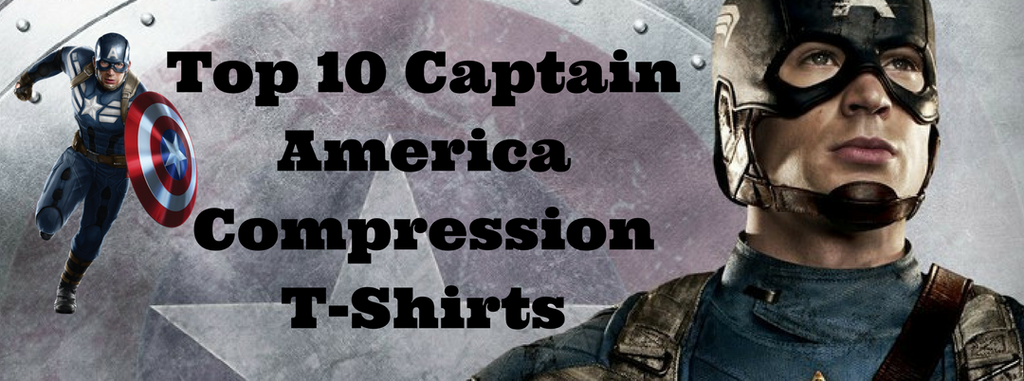 Top 10 Captain America Compression T-Shirts You Can Find Online