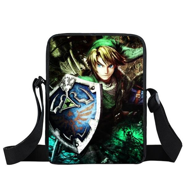 Legend of Zelda Link's Legendary Hylian Shield Cross Body Bag