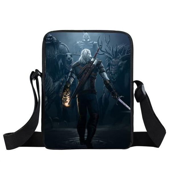 The Witcher 3 Wild Hunt Geralt Ready To Fight Cross Body Bag