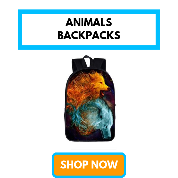 Animals Backpacks