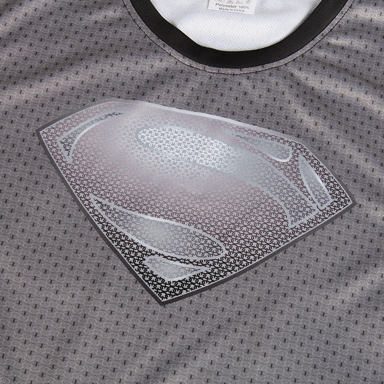Man of Steel Black Version DC Comic Stunning 3D Printed Gym T-shirt