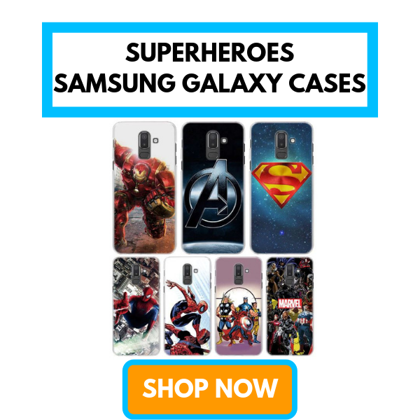 Marvel Superheroes Samsung Galaxy S Note Cases